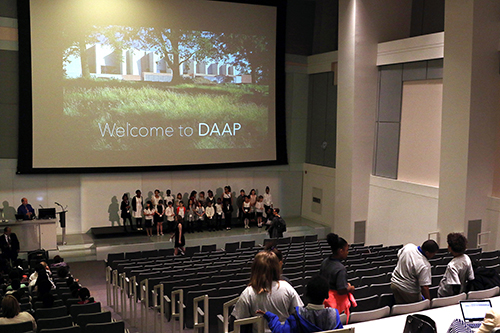 CPS student choir performs at DAAP